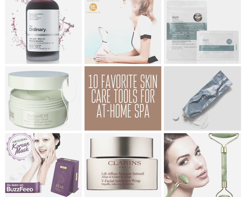 10 Skin Care Products You Need For At-Home Spa Day